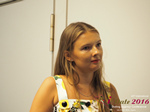 Svetlana Mukha - CEO of Diolli at the July 20-22, 2016 Limassol Premium International Dating Industry Conference