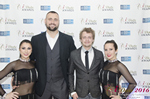 Media Wall  im Januar 26, 2016 auf der Internet Dating Industrie Awards Zeremonie in Miami