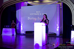 Jenny Gonzalez of Dating Factory Winner of Best Dating Software & Saas auf der  2016 Internet Dating Industrie Awards Zeremonie in Miami