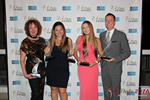 Winners of the Idate Awards  in Miami auf der 2016 Online Dating Industrie Awards