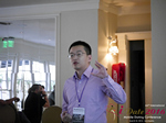Shang Hsui Koo(CFO, Jiayuan)  at the 2016 Internet and Mobile Dating Negócio Conference in L.A.