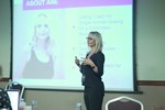 Ane Auret, CEO, presenting on Coaching Programs that work at the September 26-28, 2016 Mobile and Internet Dating Industry Conference in Londres