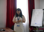 Elena Vygnanyuk at the July 19-21, 2017 International Romance Industry Conference in Belarus